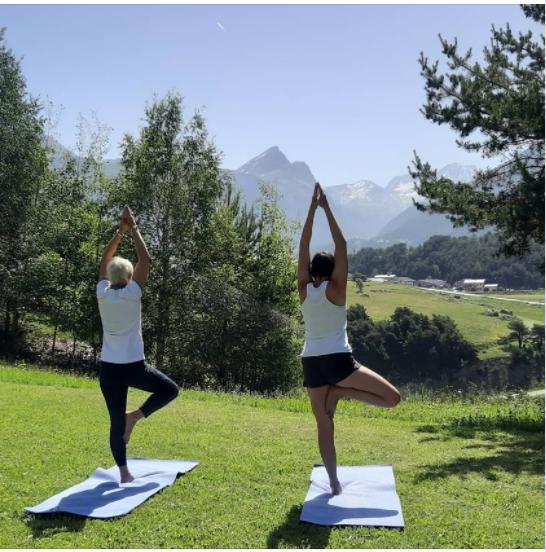 Yoga au Grand Air Aussois